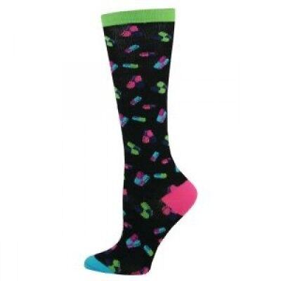Nurse Medical Healthcare Compression Socks 10-14mmHg *Random Pills* Brand New!
