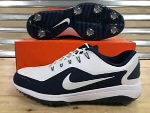 397f79dfa93 Nike React Vapor 2 Golf Shoes White Navy Blue Metallic SZ ( BV1135 ...