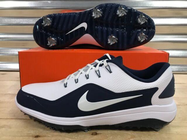 fbba6677c57 Nike React Vapor 2 Golf Shoes White Navy Blue Metallic SZ ( BV1135-100 )