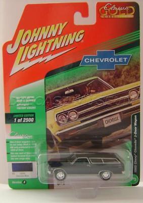 1965 /'65 CHEVY CHEVELLE 2 DOOR WAGON YELLOW CLASSIC GOLD JOHNNY LIGHTNING 2018