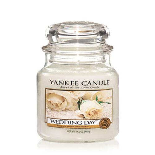 Yankee Candle Moyen Jar Bougie parfumée-Mariage