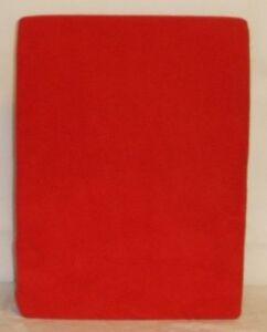 Fleece-Spannbettlaken-Spannbetttuch-rot-100-x-200-cm