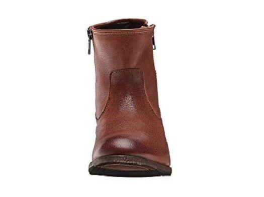 New Frye femmes Whiskey marron marron marron leather Ethan Double Zip démarrageie bottes Taille 6   358 20060d