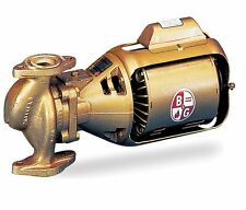 bell gossett industrial electric water mro pumps bell gossett w06197 lf 1 12hp 115v ac bronze booster circulator pump 12b