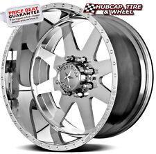 "AMERICAN FORCE INDEPENDENCE SS8 POLISHED 24""x14 WHEELS RIMS 8 LUG (set of 4) NEW"