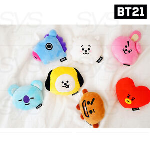 BTS-BT21-Official-Authentic-Goods-Wrist-Cushion-7-Characters-Tracking-Number
