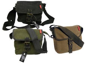 CANVAS-Uberschlagtasche-von-STEFANO-Neu-Freizeittasche-Tasche-Geschenkidee