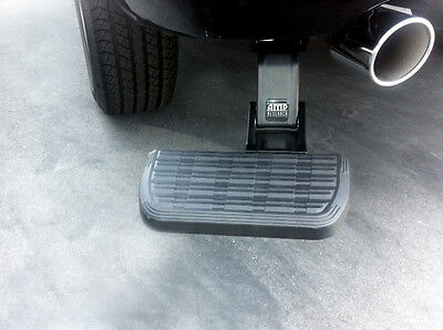 Amp Research BedStep Bumper Step 09-17 Dodge Ram 1500 with Factory Dual Exhaust