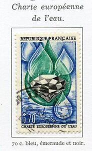 TIMBRE-FRANCE-OBLITERE-N-1612-CHARTE-EUROPEENNE-DE-L-039-EAU