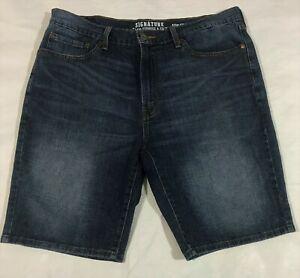 4dec2404 Signature by Levi Strauss & Co Men's Blue Jeans Shorts Size 36 | eBay