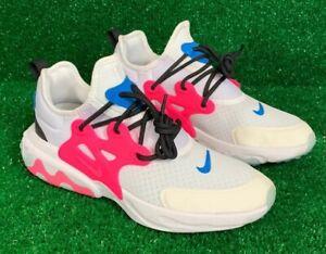 Nike React Presto GS Sz 6.5Y White Pink