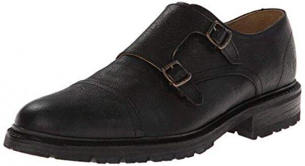 fino al 60% di sconto Frye Jones Double Monk Monk Monk nero Leather Casual Dress Strap Oxfords scarpe Dimensione 7  esclusivo