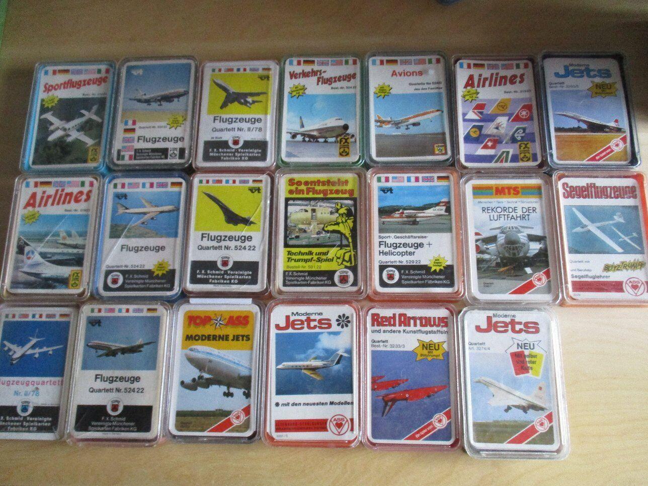 20 x aviones cuartetos AAS Fxs FX Schmid colección
