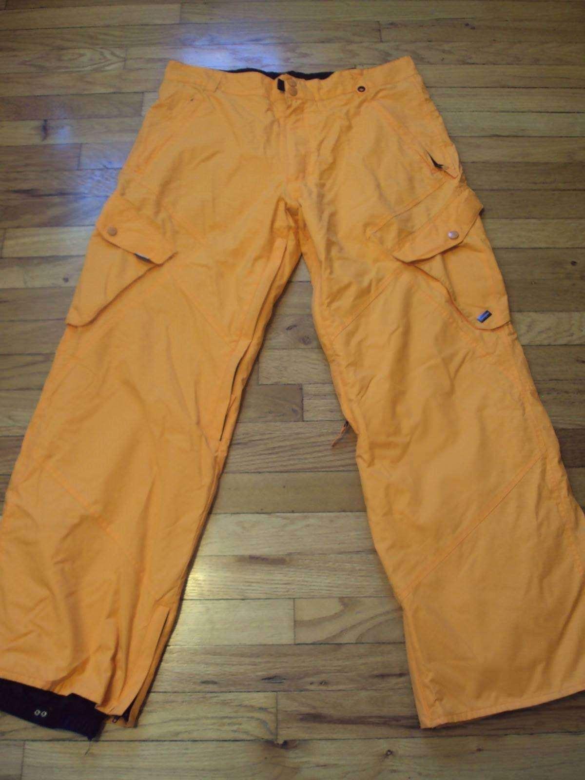 RIPZONE CORE 5000 PANTS WOMENS  SIZE L L G LARGE orange SNOWBOARD SKI WELL KEPT   top brand