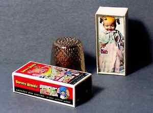 Dollhouse-Miniature-1-12-Bonny-Braids-Baby-Doll-Box-1950s-dollhouse-girl