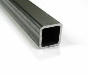 Mild Steel Box Section 20x20x2mm: 100mm to 1000mm / 10cm to 100cm / 1m