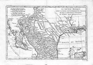 Antique maps, Le nouveau Mexique …