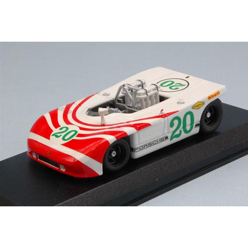 PORSCHE 908/3 N.20 RETIrosso T.FLORIO 1970 ELFORD-HERRMANN 1:43 Best Model
