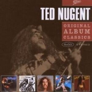TED-NUGENT-034-ORIGINAL-ALBUM-CLASSICS-034-5-CD-BOX-NEW