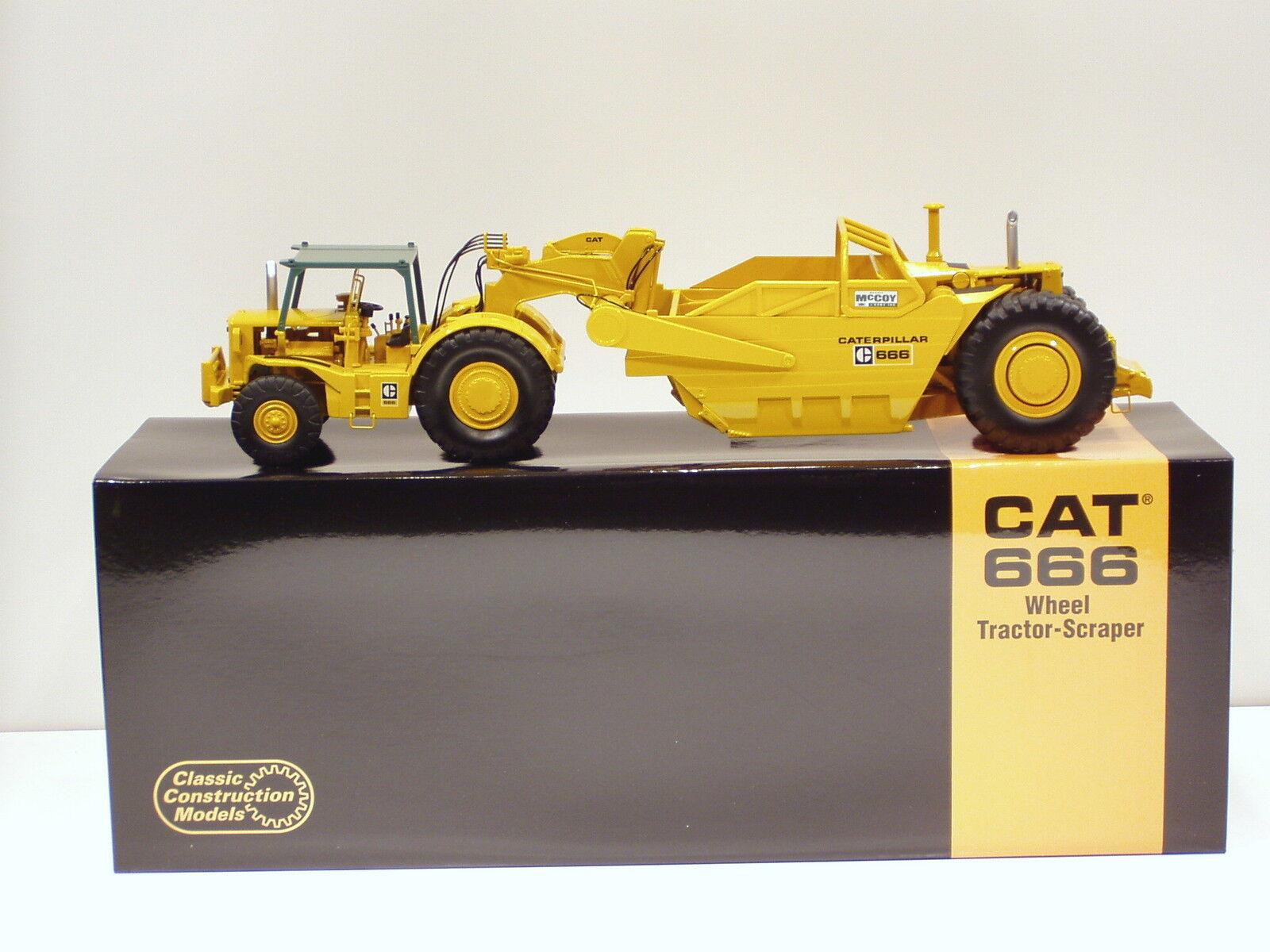 Caterpillar 666 Grattoir -  McCoy  - 1 48 - CCM-Diecast-Neuf 2010