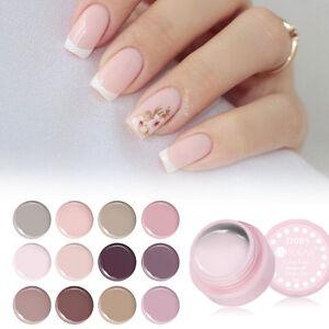Pink Nude Color Soak Off Uv Gel Polish Paint Uv Led Nail Art Gel