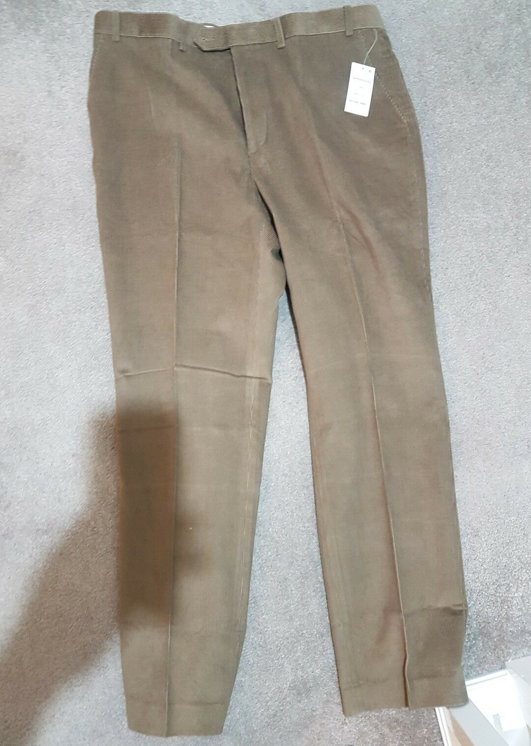 Ralph lauren mens corduroy Tan trouser  Pants 38  32