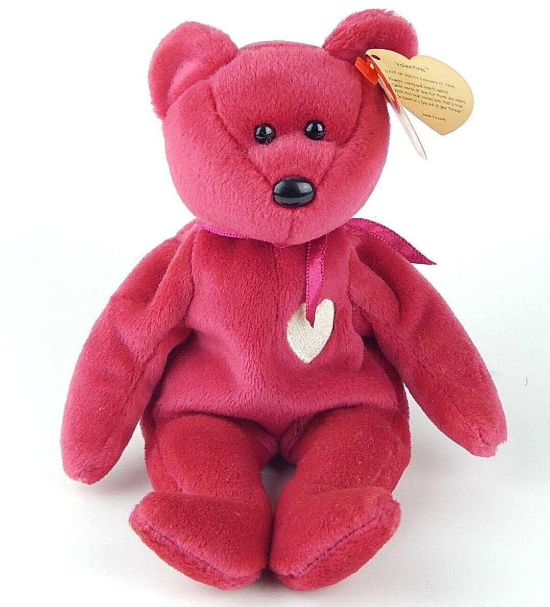 Ty beanie baby 1999 valentina mit fehlern ausruf raum fehler