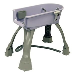 Booster Bath Elevated Pet Bathing Dog Medium Lilac Purple