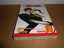 Bleach Vol. 18 by Tite Kubo Viz Manga Book in English