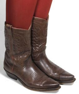 37 Style Sancho Westernstiefel Texas Catalan Line Cowboystiefel Stiefel qq0wxZ4