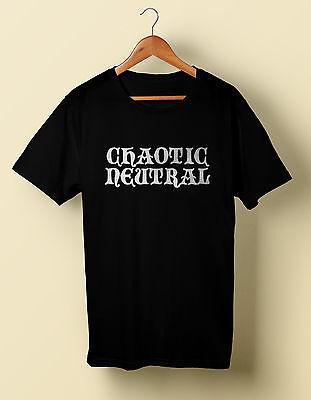 Chaotic Neutral shirt t dungeons and dragons d&d S M L XL 2X 3X 4X 5X