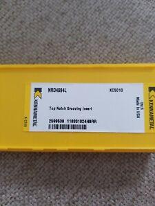 Kennametal-NRD-4094L-KC5010-Top-Notch-Grooving-Inserts