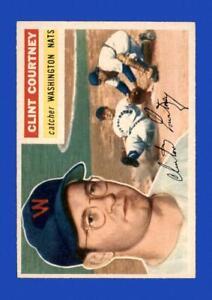 1956-Topps-Set-Break-159-Clint-Courtney-NR-MINT-GMCARDS