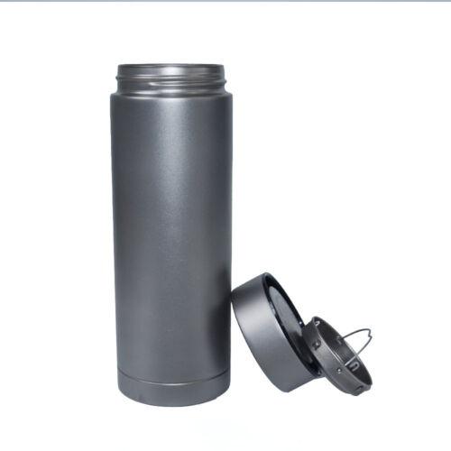 400ml Pure Titanium Travel Mugs Vacuum Flask Water Bottle Cup Outdoor Vacuum Cup