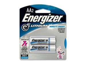 ENERGIZER Ultimate Lithium 1.5V AA Battery, 2-pack
