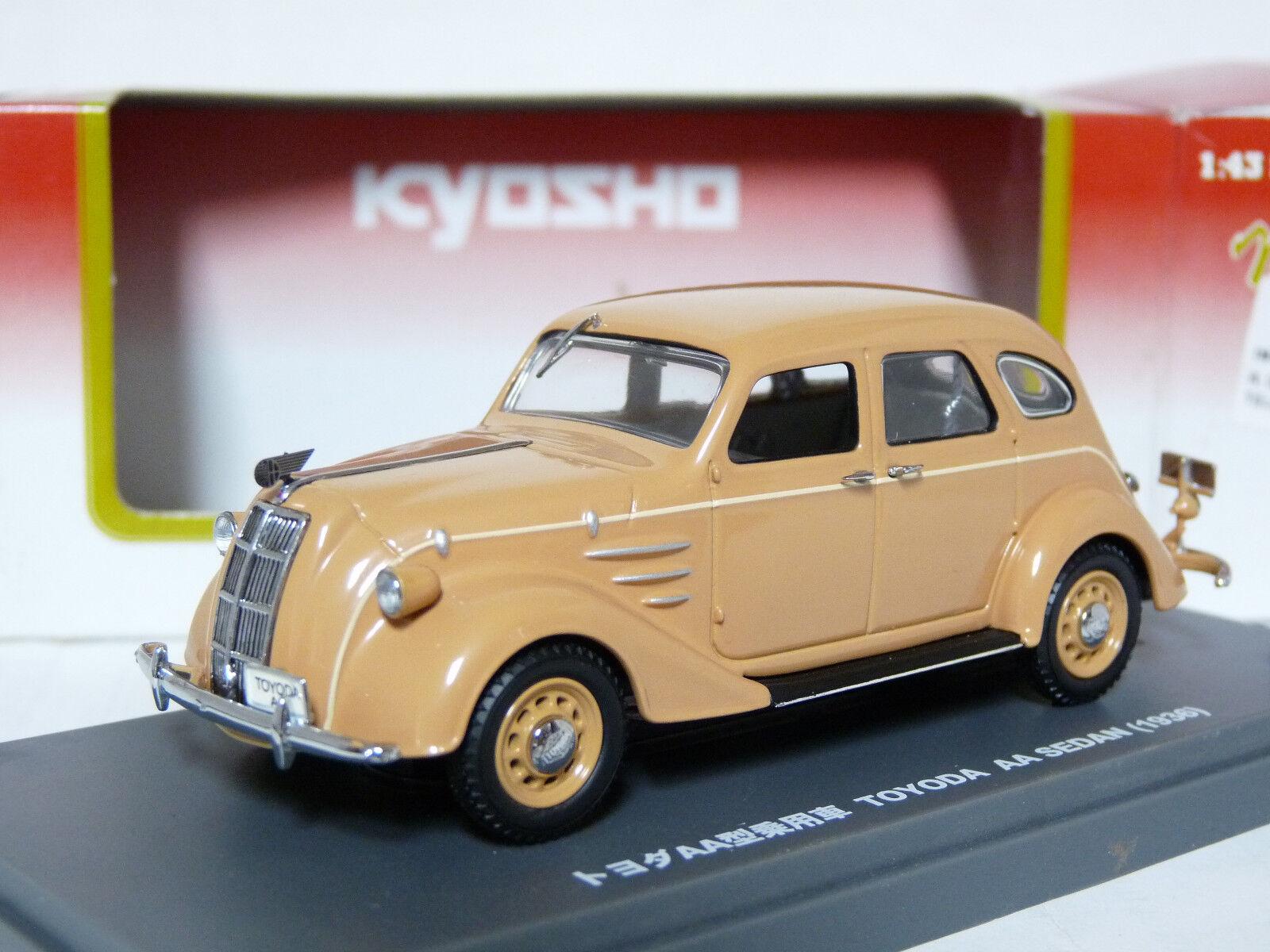 Kyosho 03084V 1 43 1936 Toyota Toyoda AA Sedan Diecast Model Car