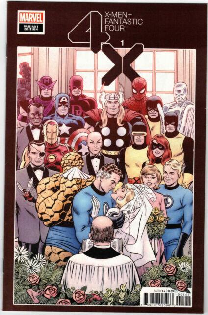 X-MEN FANTASTIC FOUR #1 1:100 JOHN ROMITA HIDDEN GEM VARIANT MARVEL COMICS 2020