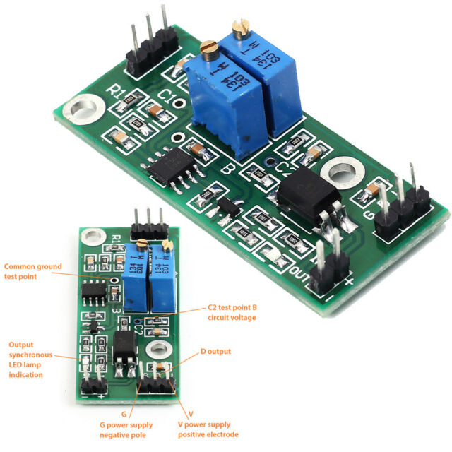 LM2903 Window Voltage Comparator Module Optical Coupling Isolation Control 3-28V