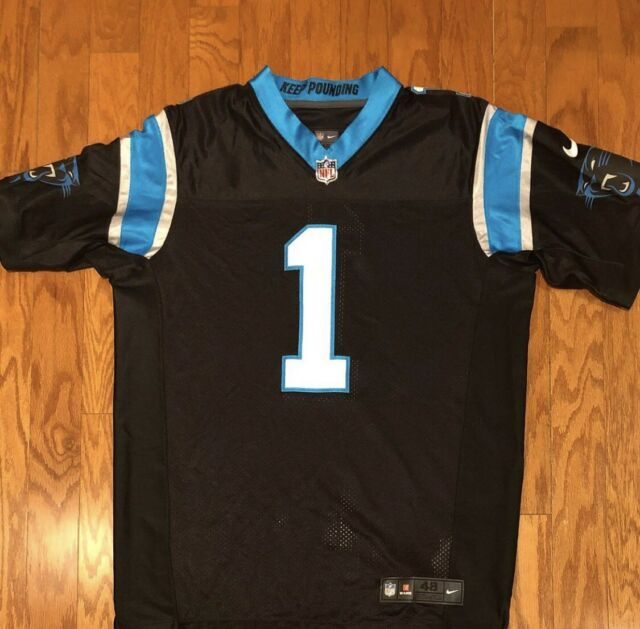 a97631a042a BNWT Nike Authentic Sewn On-Field Carolina Panthers Cam New Jersey sz 48 XL