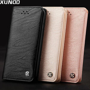 XUNDD-Leather-Wallet-Case-Card-Holder-Flip-Cover-Fr-Apple-iPhone-X-8-7-6s-6-Plus