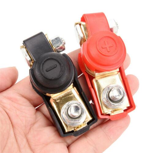 1 Paar Caravan-Batterieklemmen 12-V-Schnellverschluss-Batterieanschlussklemmen