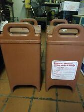 1 One Cambro 350lcd Insulated Foodsoup Carrier Hotcold Keeps Temp For Hrs