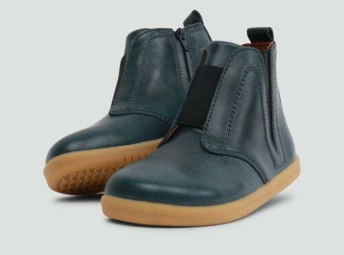 Bobux I-Walk Signet Boots In Ink Petrol Blue New Season