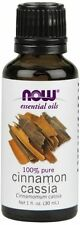NOW Foods Cinnamon Cassia Essential Oil - 1 oz. For Burners and Diffusers