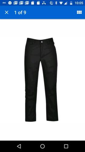 38W//32L. Helly Hansen Pantaloni da Lavoro Nuovo Nero C54