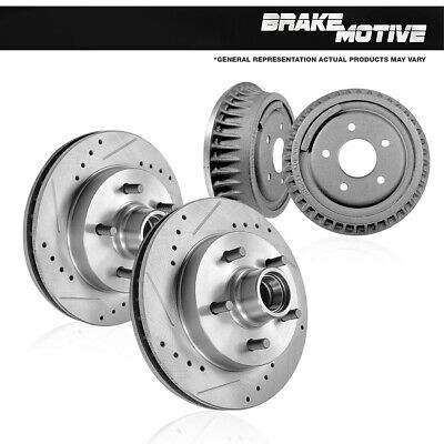 Centric Brake Disc Front Driver or Passenger Side New RWD 4-Wheel ABS 120.66017