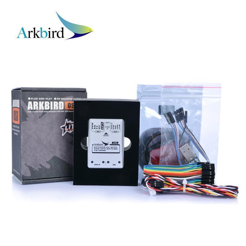 Controlador de telemando Arkbird vuelo FPV OSD Autopilot 2.0 Lite Módulo GPS M8N