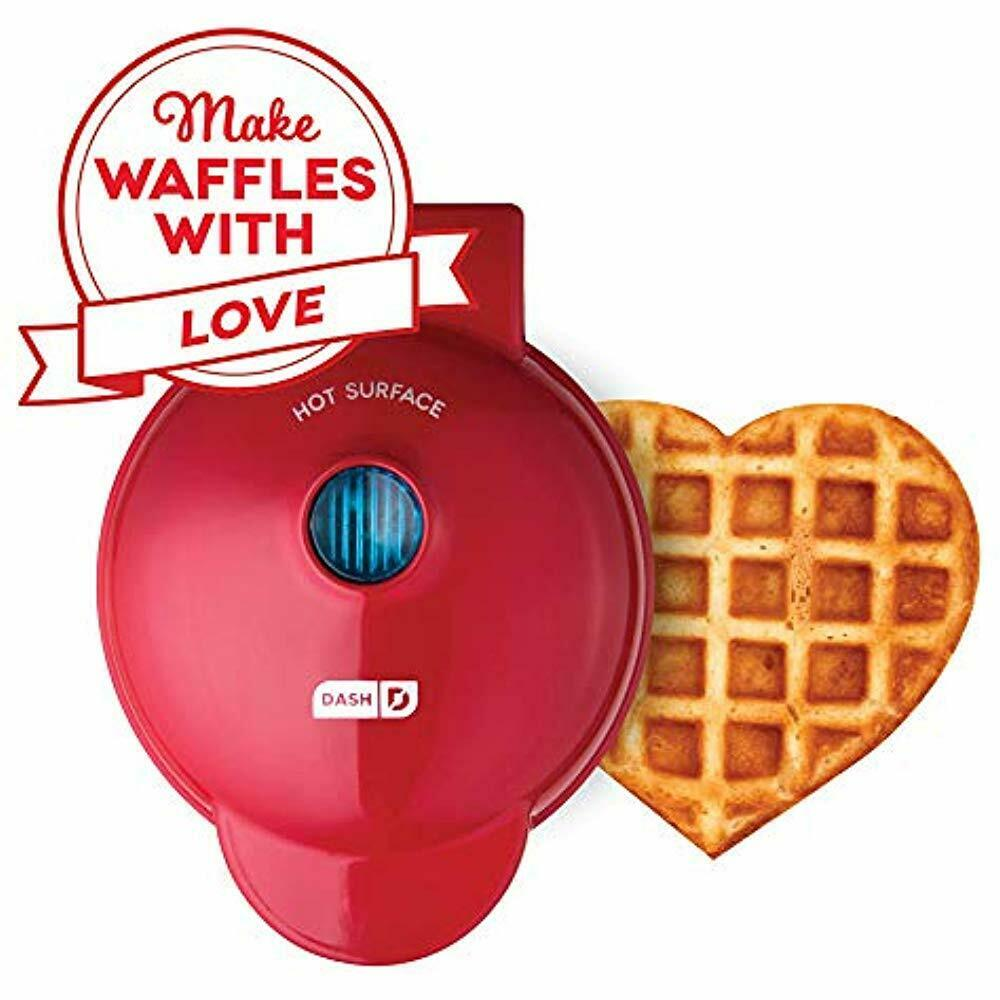 New in Box Pink Sealed DASH Mini Waffle Maker Machine for Individual Waffles