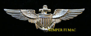 US-NAVY-MINI-PILOT-WING-MINATURE-HAT-LAPEL-PIN-WW-2-NAVAL-TOPGUN-USS-GIFT-WOW