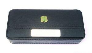 à Condition De Four Leaf Clover Black Ball Point Pens In Gift Case Free Engraving Gift 138 Demande DéPassant L'Offre